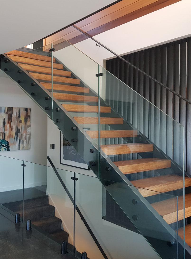 Disc Anchor Balustrade - Otago Frameless Glass NZ